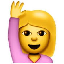 rubia de rosa saludando