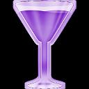 Copa martini lila