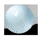 Icono balon de golf