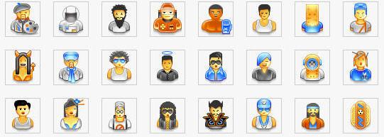 Iconos personas 48 x 48
