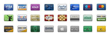 Iconos gratis tarjetas de credito