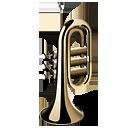 icono imagen de trompeta