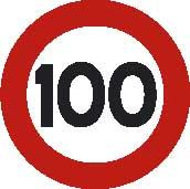 señal de 100