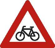 señal de ciclistas