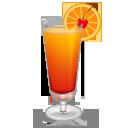 vaso con rodaja
